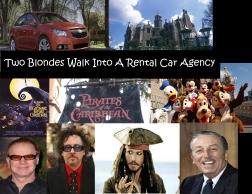 two blonds rental car agency