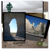 Monument Rocks, Kansas
